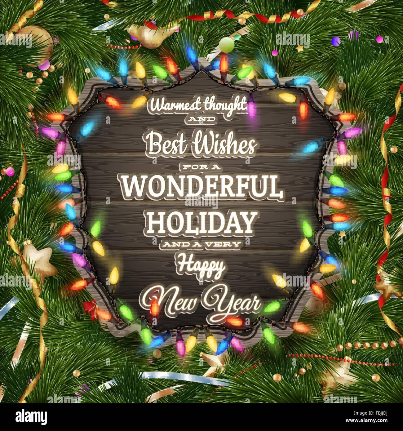 Xmas poster design - Christmas Poster Design Template Eps 10