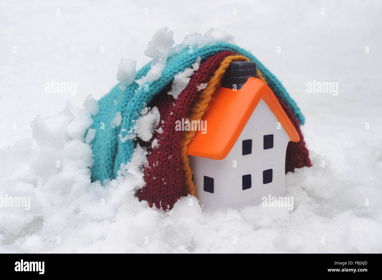 house covered by blankets in snow re cold weather payment home stock photo royalty free image. Black Bedroom Furniture Sets. Home Design Ideas