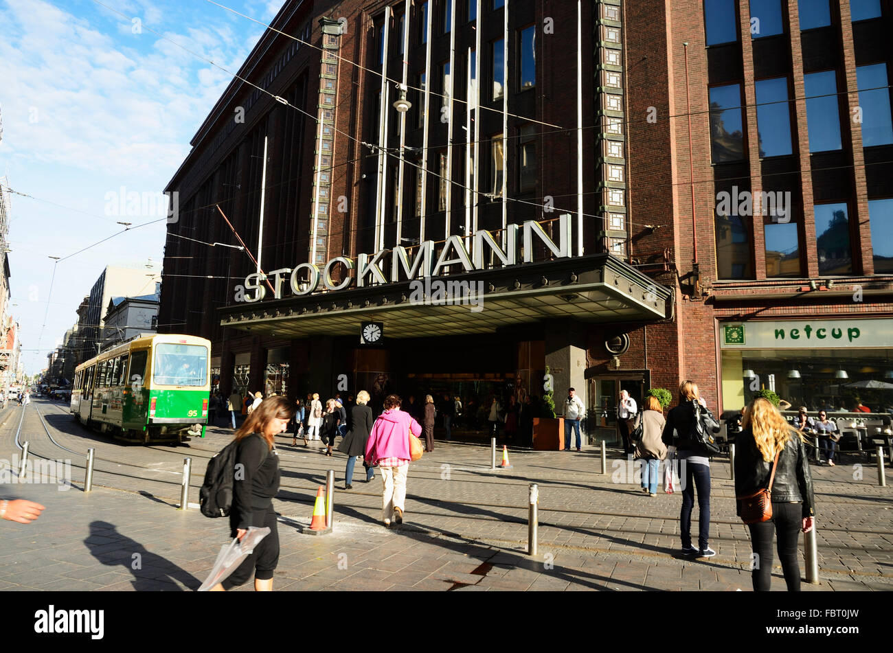 Stockmann Helsinki Laukut : Stockmann helsinki city center department store was