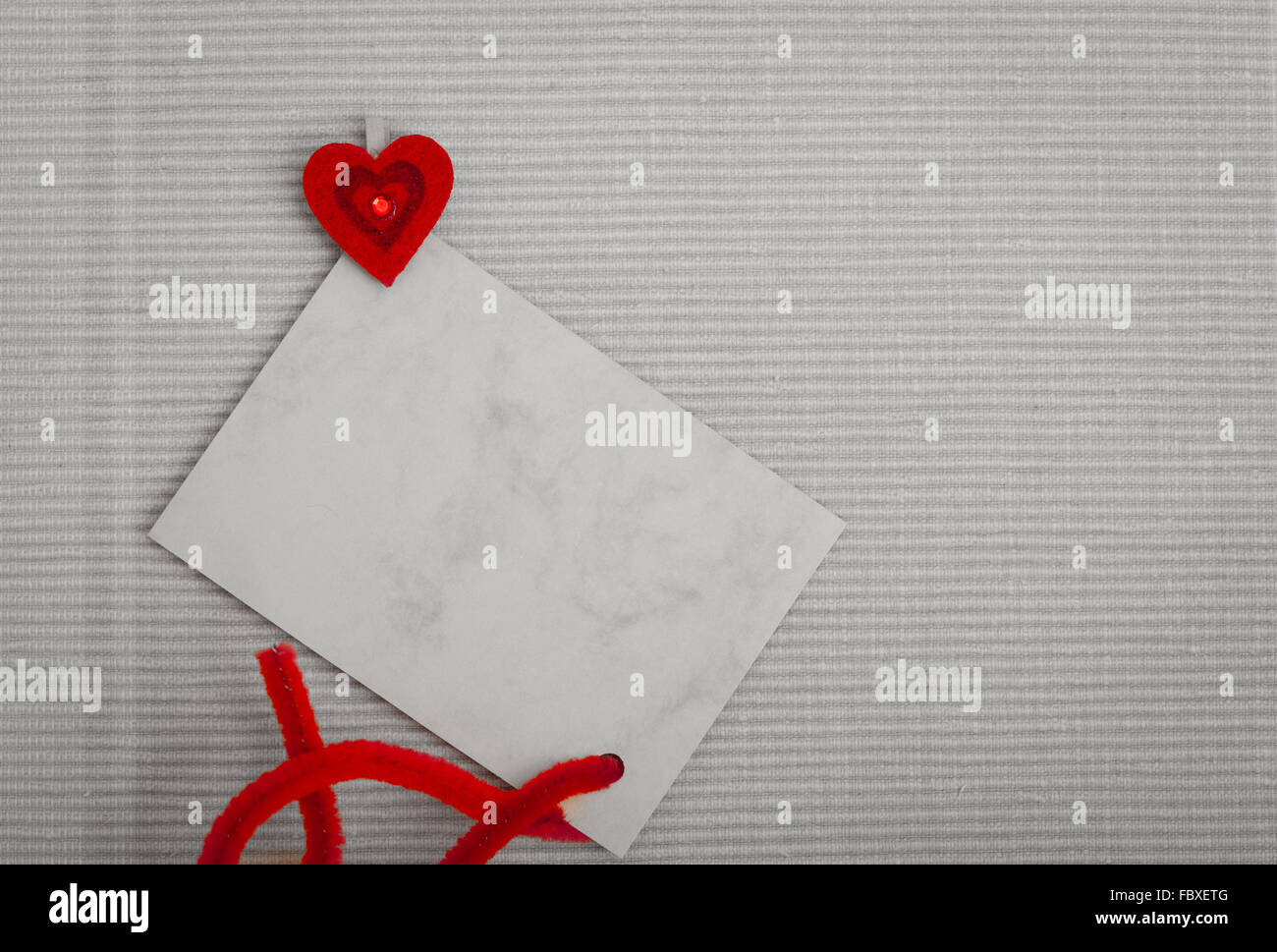 Blank card copy space text message and red heart symbol love stock blank card copy space text message and red heart symbol love biocorpaavc