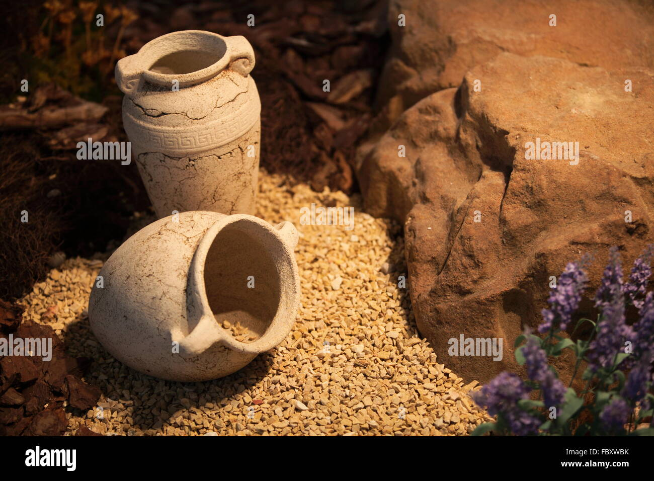 Decorative Jugs And Vases Ceramic Vases Clay Jugs Decoration And Craft Stock Photo Royalty