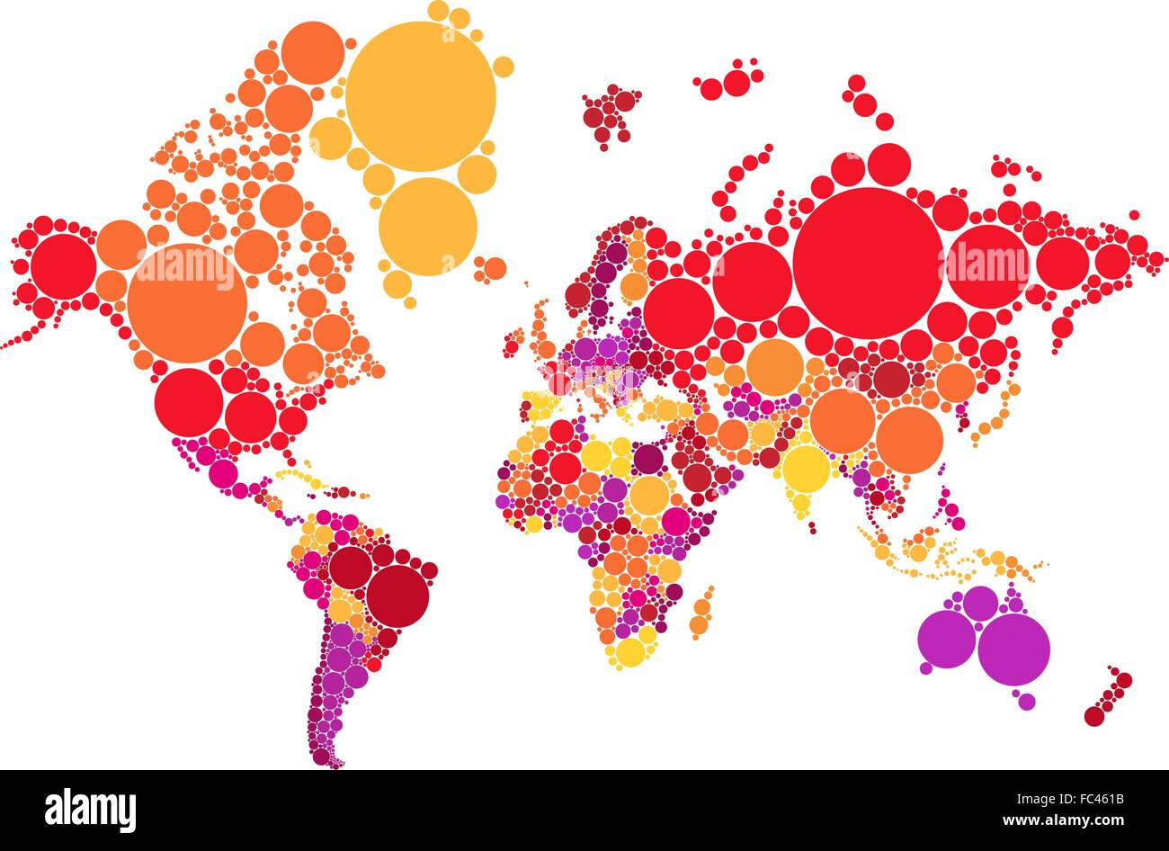 Political abstract dot world map with countries vector political abstract dot world map with countries vector illustration map source nasa public domain gumiabroncs Image collections