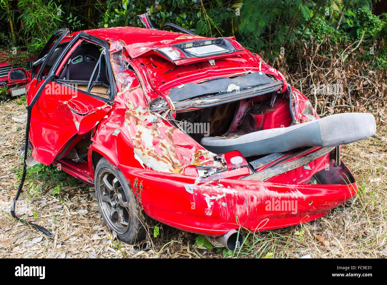 crashed cars Stock Photo, Royalty Free Image: 93636341 - Alamy