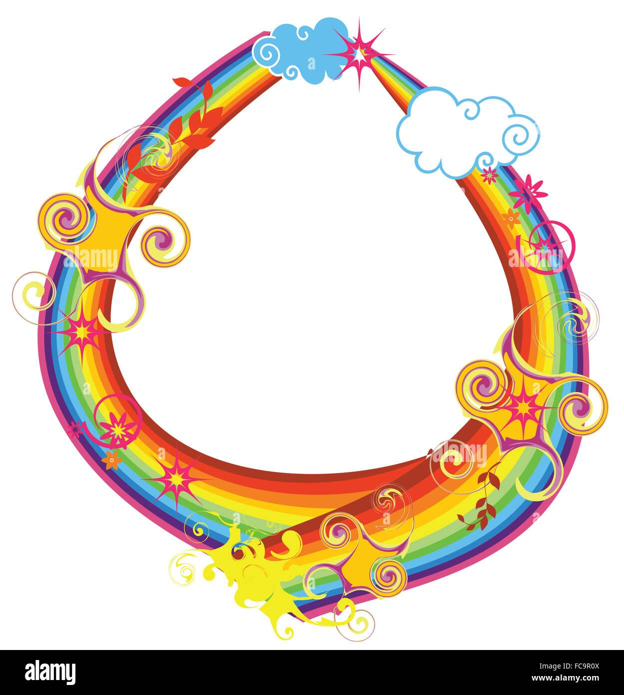 Rainbow letter o stock photo royalty free image 93643338 alamy rainbow letter o biocorpaavc