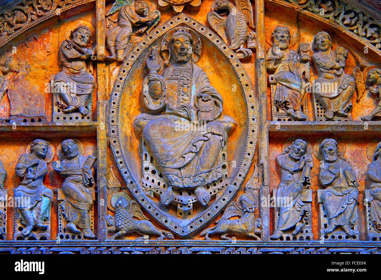 Christ In Majesty Romanesque