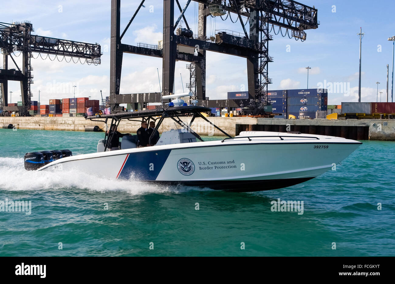 US Customs And Border Protection Marine Unit Operating A HP - Us customs miami map