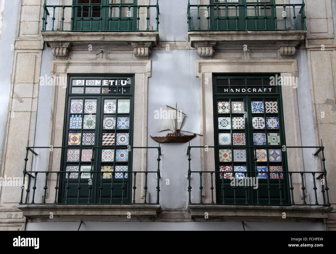 Ceramic Tile Shop in Porto Stock Photo, Royalty Free Image: 93813073 ...