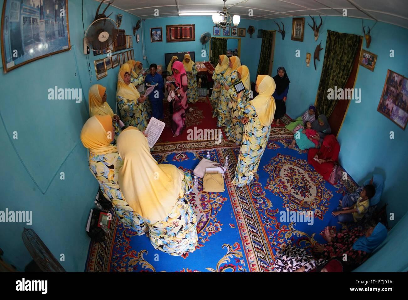 Wedding Rituals In Malaysian Muslim Marriage Ceremony Kuching Sarawak