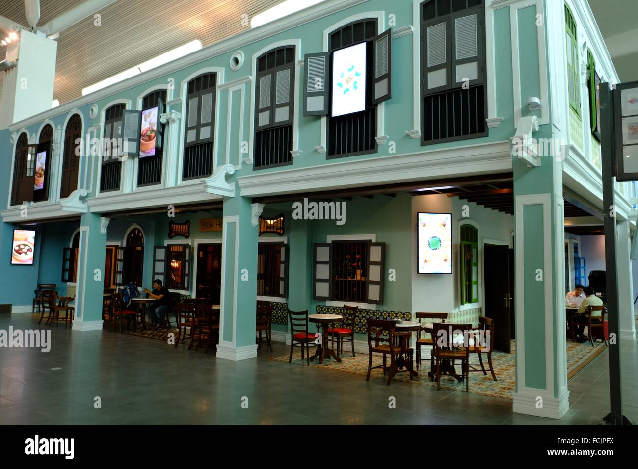 Traditional architecture old shop house style decoration for Classic house kl