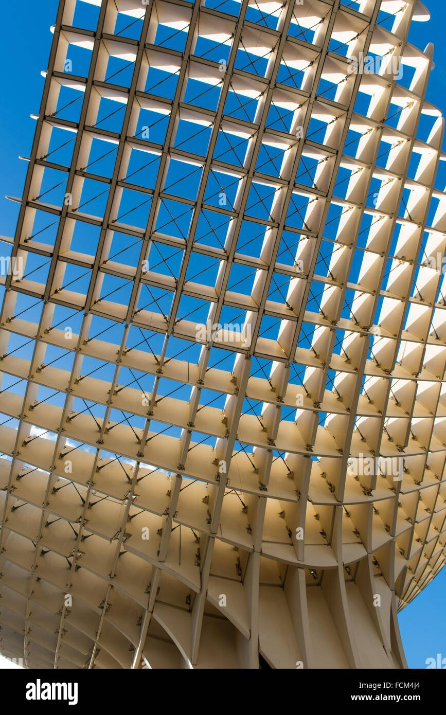 Metropol parasol the world s largest wooden structure - Metropol Parasol Known As Setas De Sevilla The Mushrooms Is The World S Largest Wooden Structure Sevilla Andalusia Spain