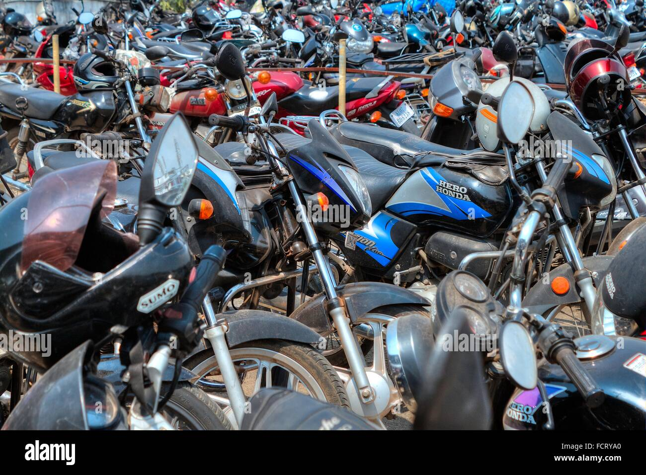 Scooter Parking Park Motorbike Stock Photos Scooter Parking Park