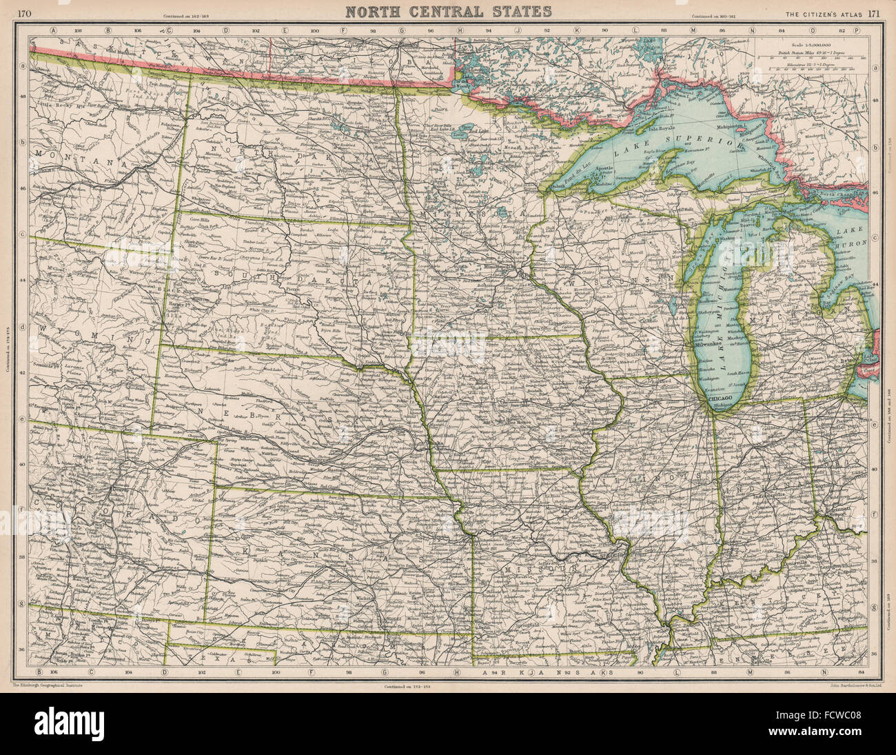 usa midwest nd sd mi wi michigan indiana illinois iowa mi ne  - usa midwest nd sd mi wi michigan indiana illinois iowa mi ne kansas map