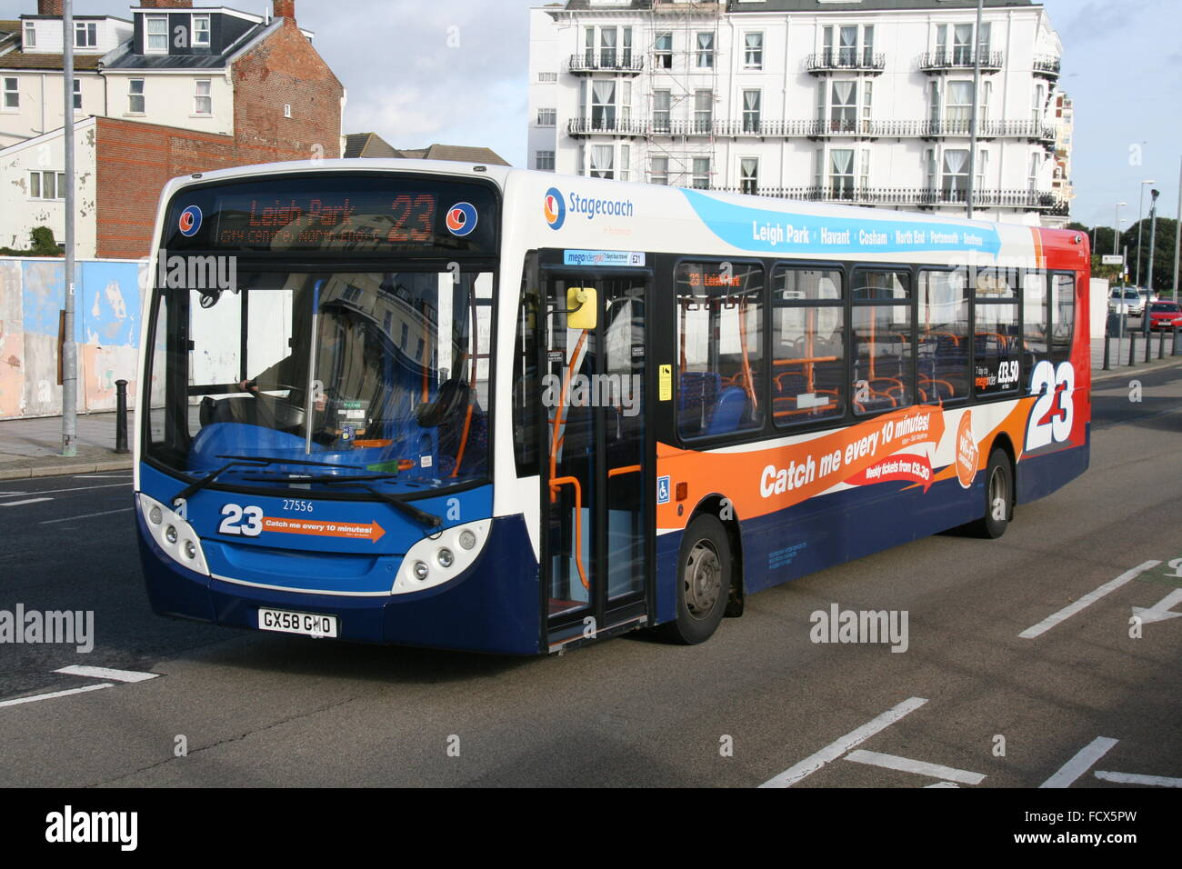 alexander dennis adl enviro bus operated by stagecoach