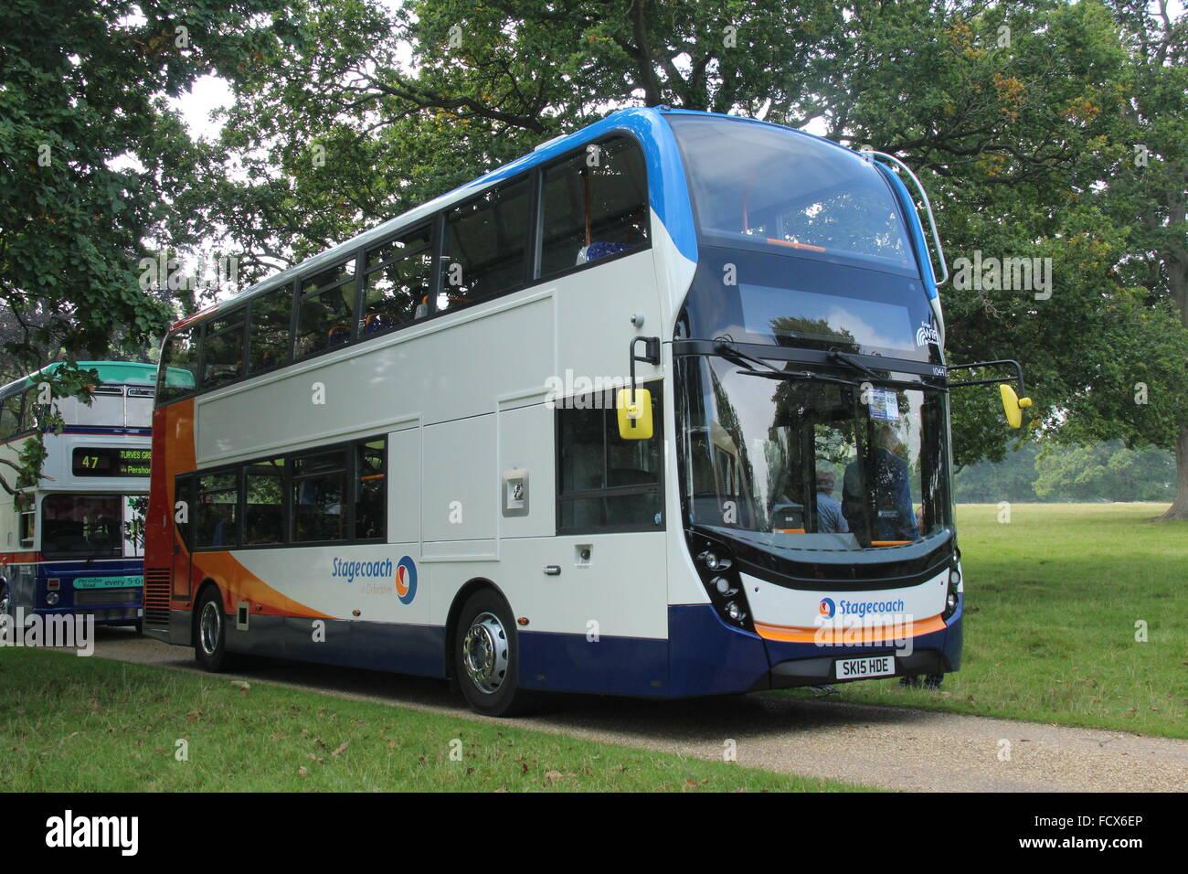 alexander dennis enviro 400 double deck adl bus of