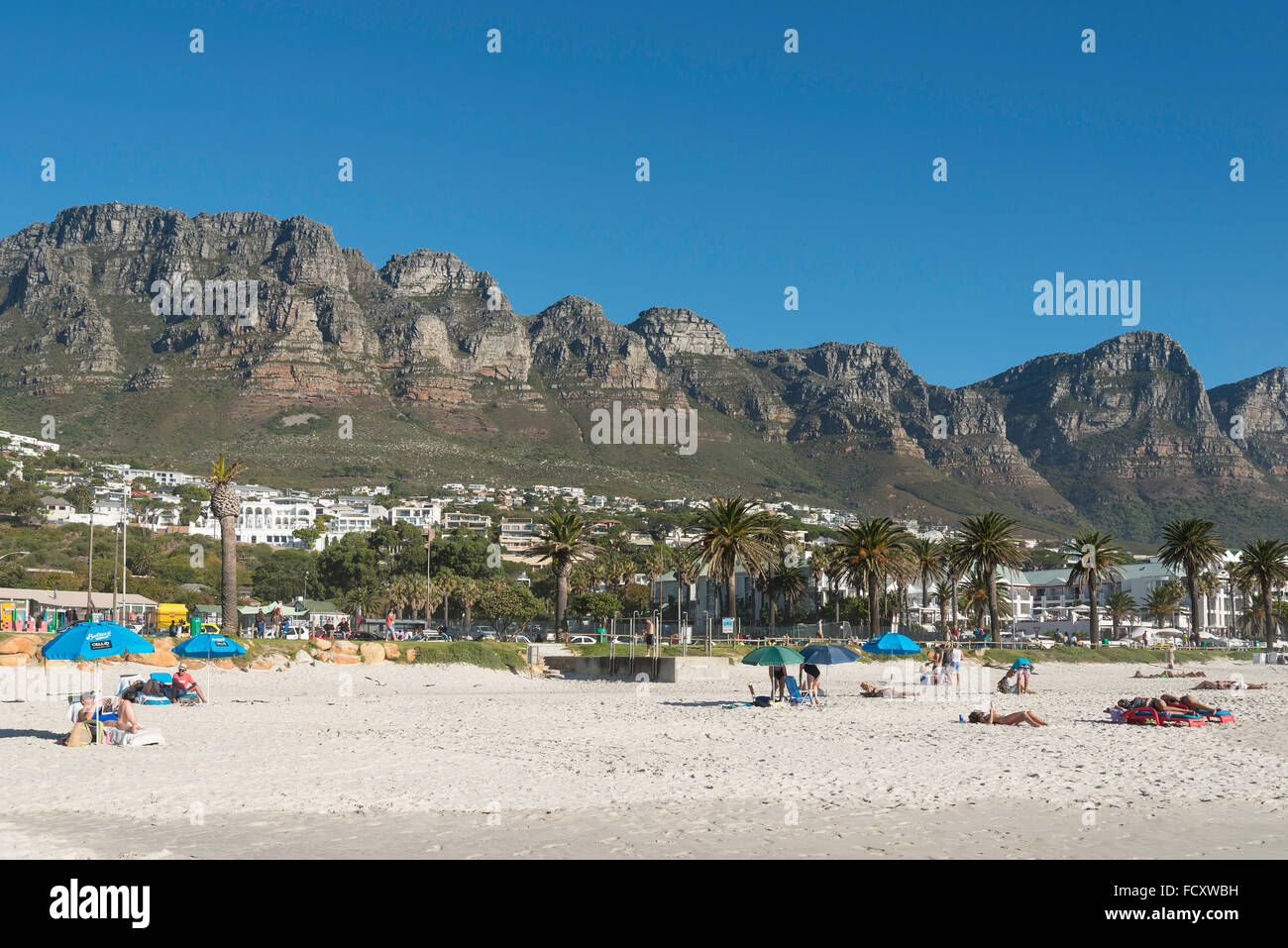 City Of Cape Town: Camps Bay Beach, Camps Bay, Cape Town, City Of Cape Town