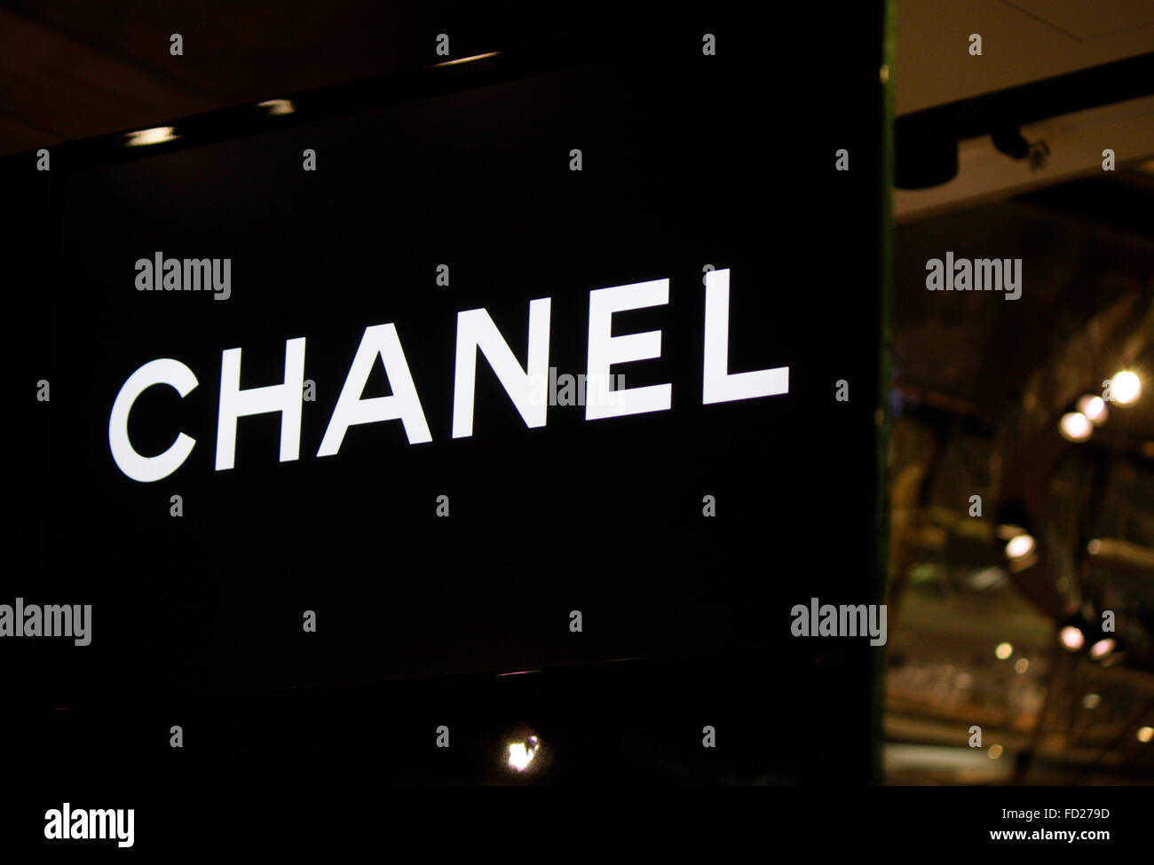 Chanel Berlin markenname chanel berlin stock photo royalty free image