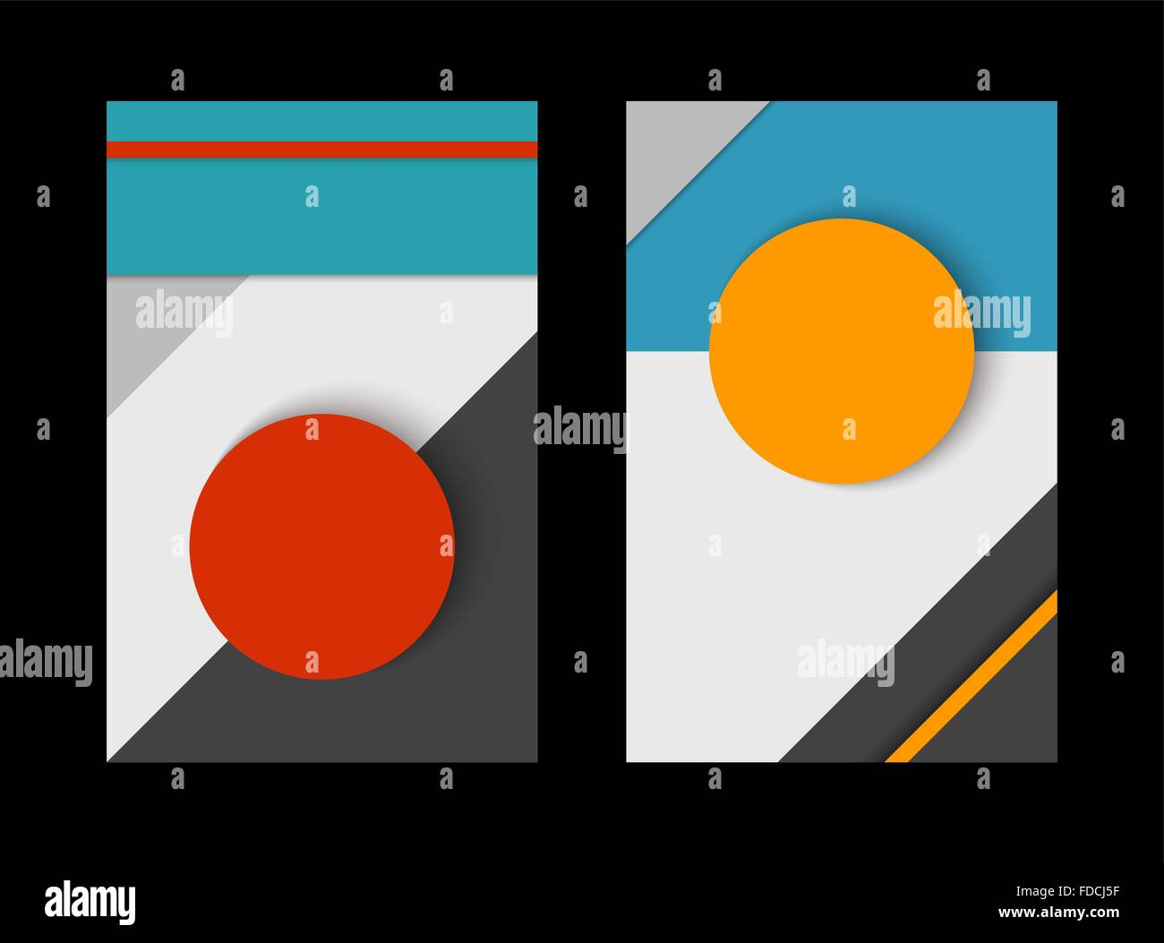 Pics photos 3d colorful abstract background design - Material Design Abstract Background Set Geometry Compositions With Colorful Paper Style Decoration In 3d