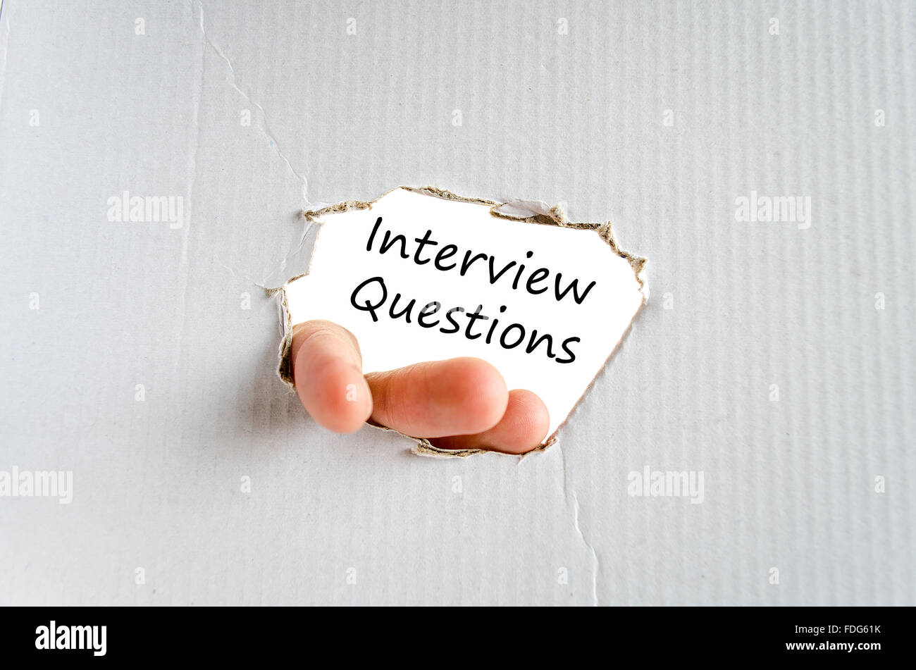 background interview questions