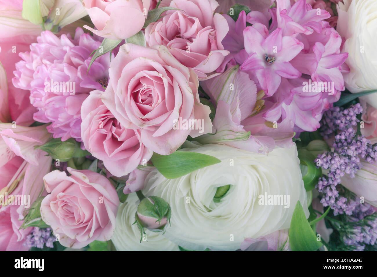 Amazing flower bouquet arrangement close up in pastel colors stock amazing flower bouquet arrangement close up in pastel colors izmirmasajfo Gallery