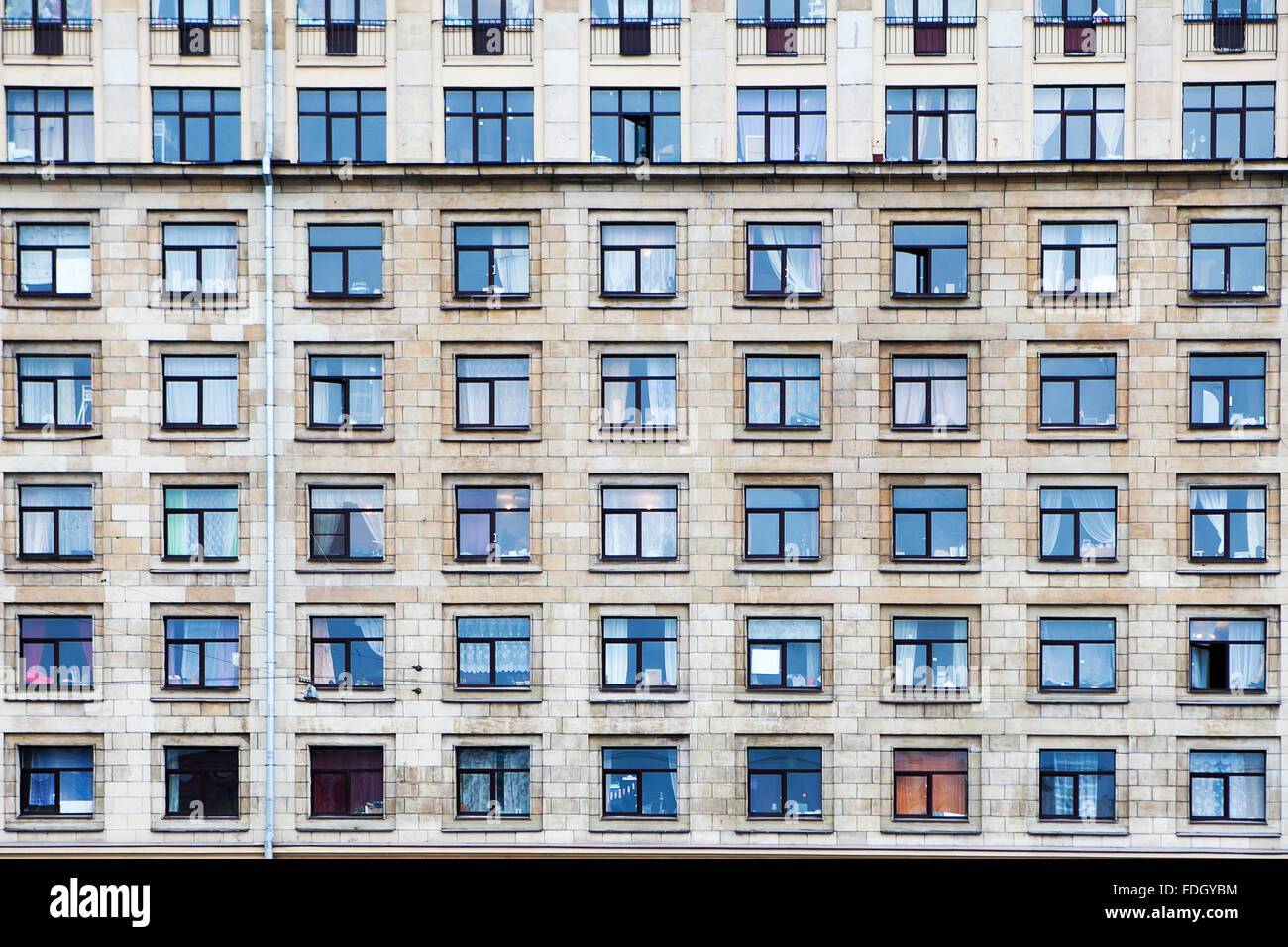 Architectural Background Texture Pattern Of Buildings With Windows - Building architectural windows
