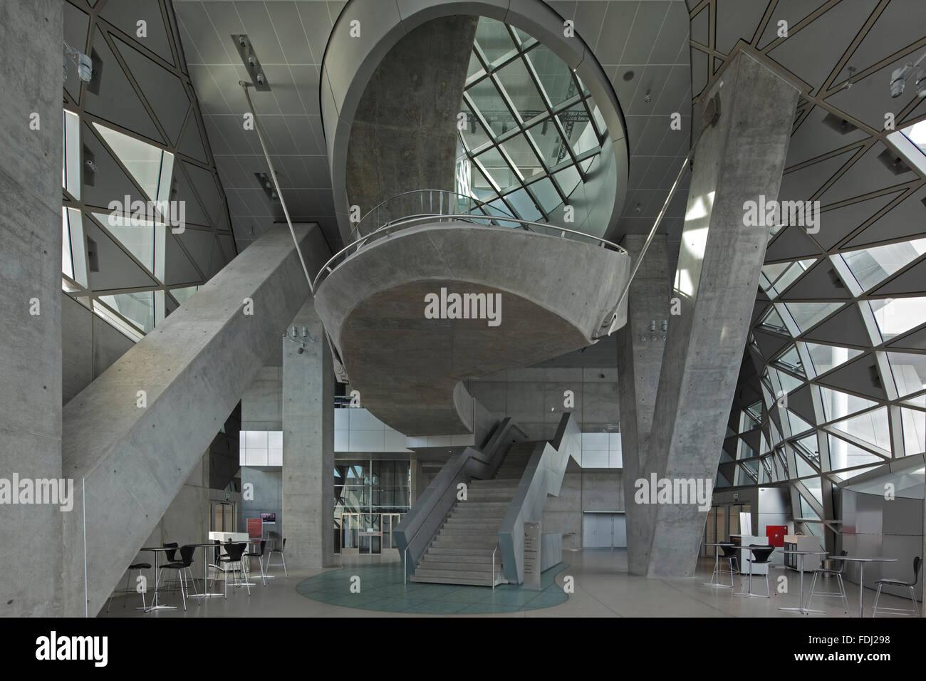 Slanted Columns Musikkens Hus Aalborg Aalborg Denmark Architect