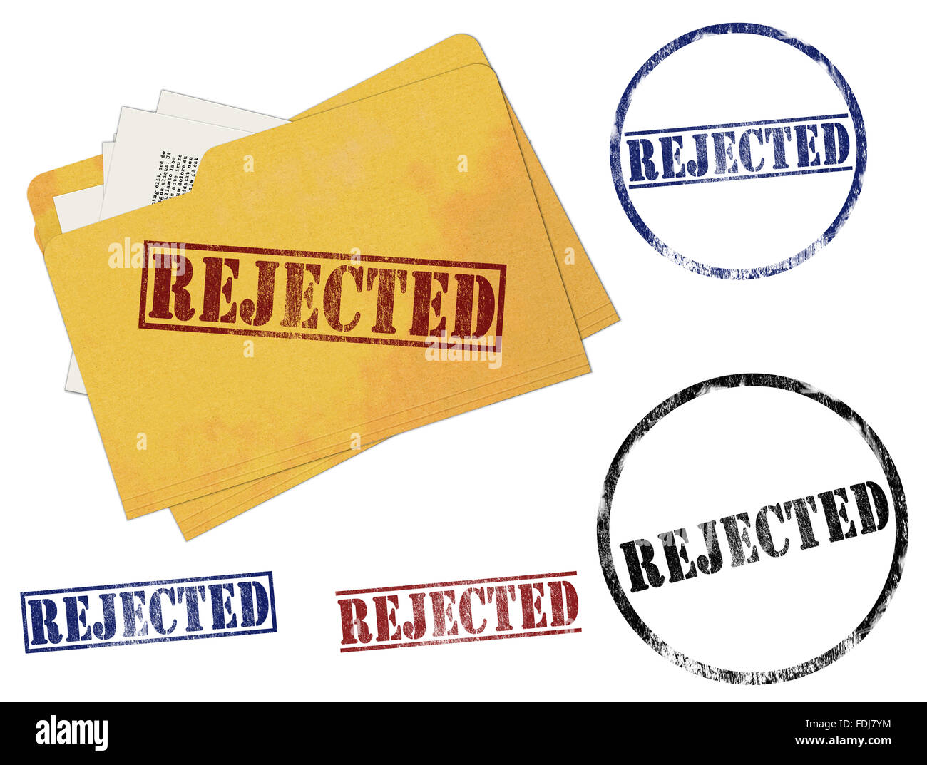 Rejected Rubber Stamp Marks Stock Photo, Royalty Free ...