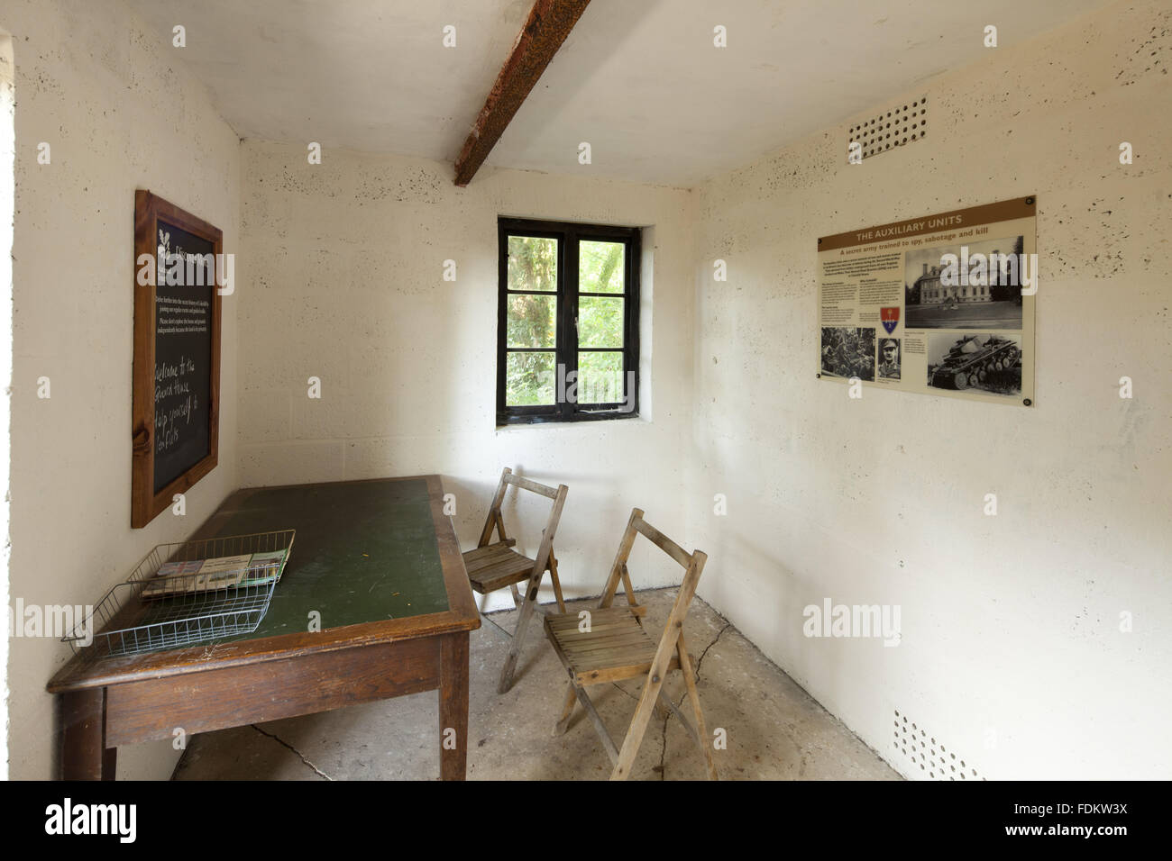 interior of the coleshill guard house oxfordshire the