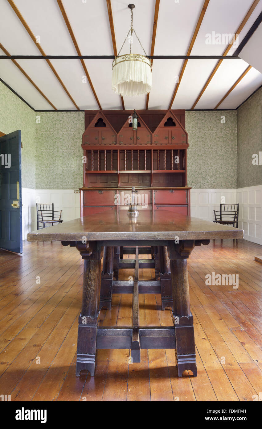 Philip Webb Table And Dresser In The Dining Room At Red House Bexleyheath Kent