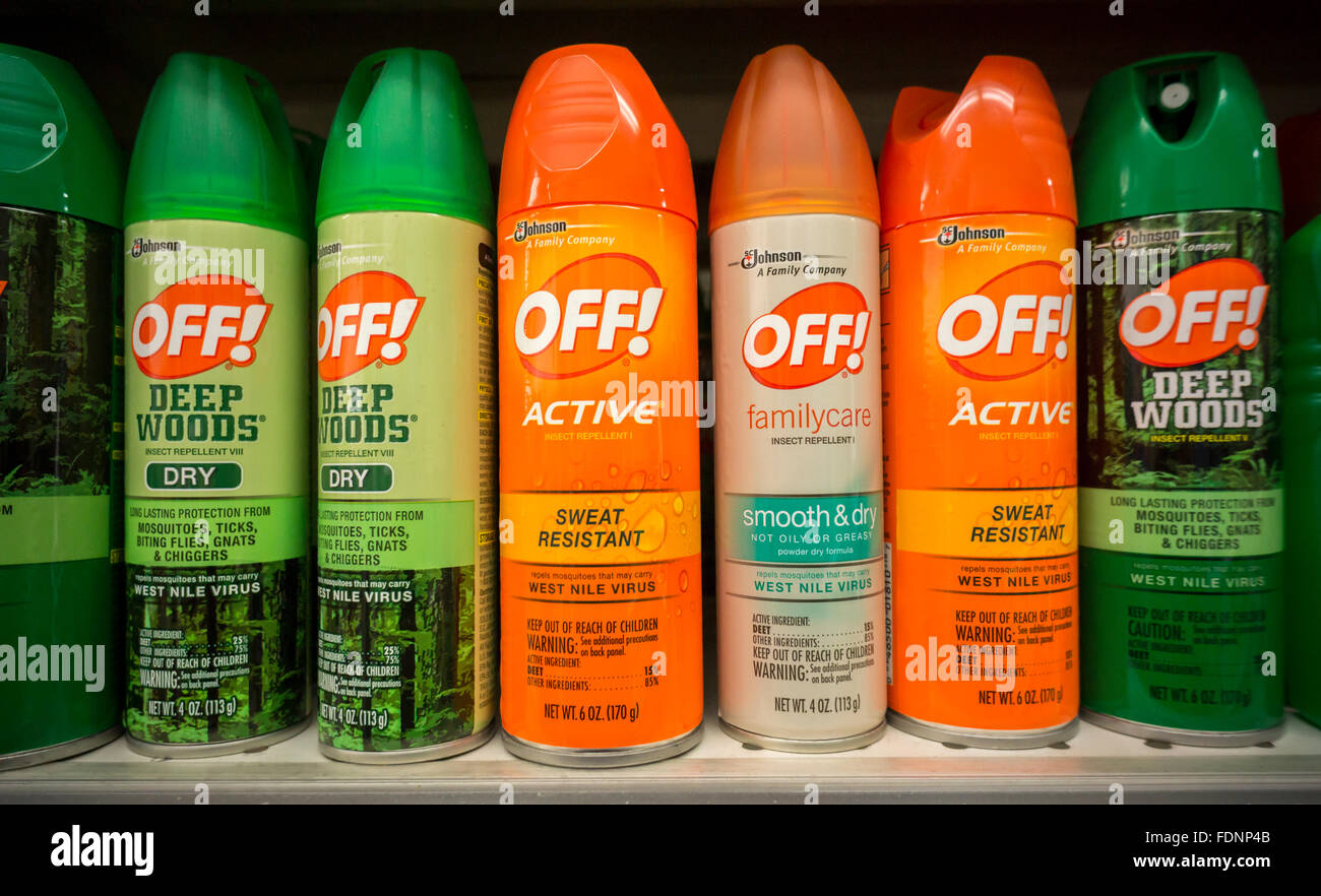 Off brand bug spray