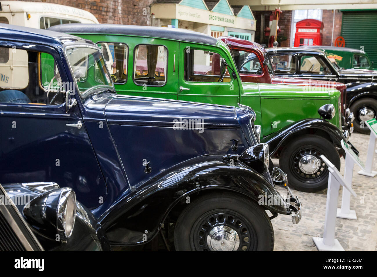 Jowett Cars And Other Vehicles On Display At Bradford Industrial