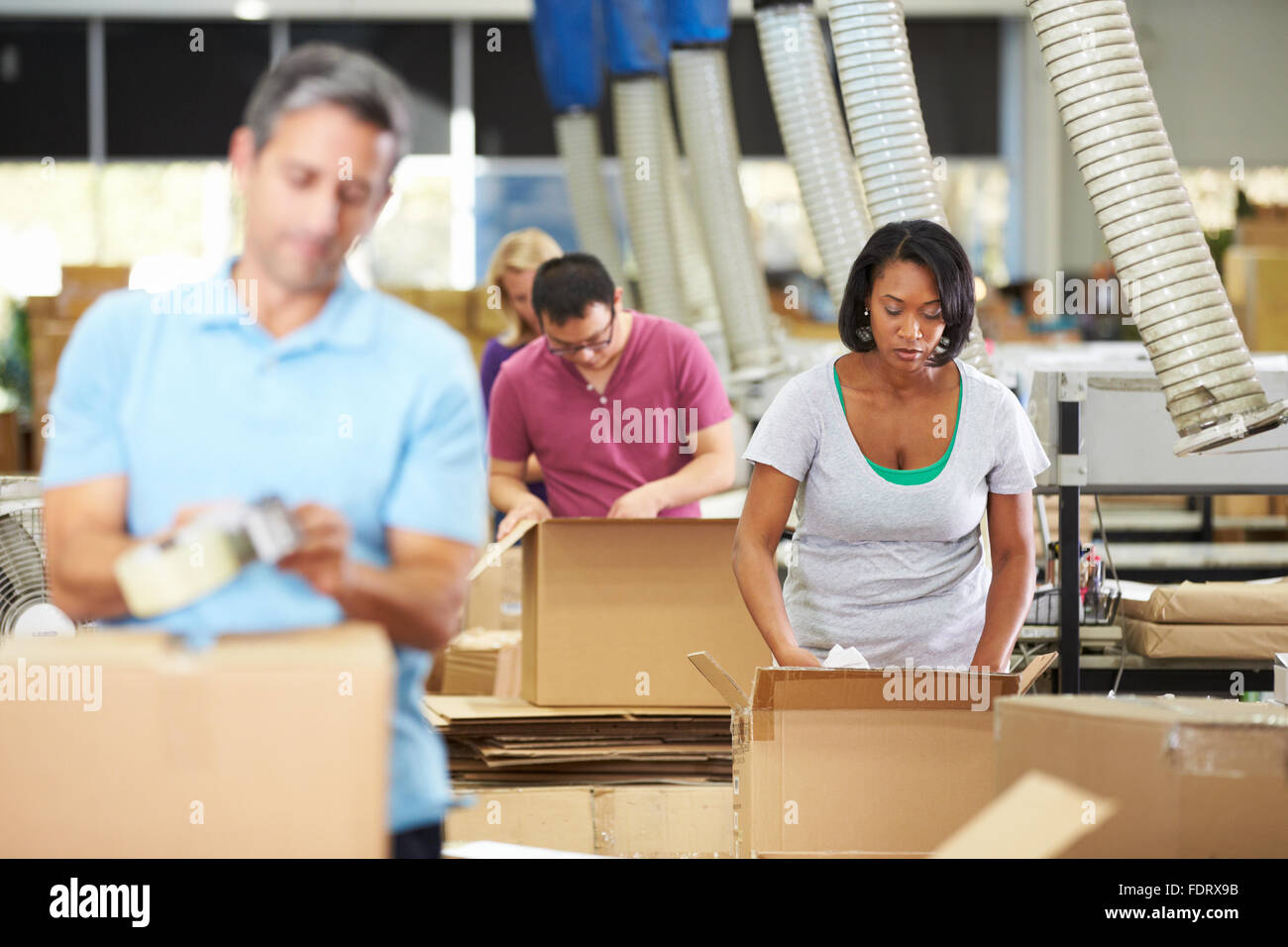 logistics packing waren warehouse clerk stock photo royalty stock photo logistics packing waren warehouse clerk
