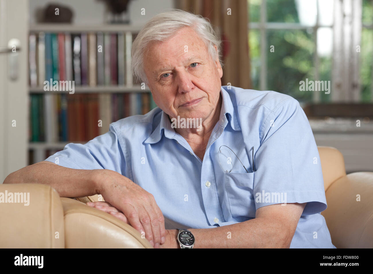 Sir David Attenborough English Broadcaster And Naturalist