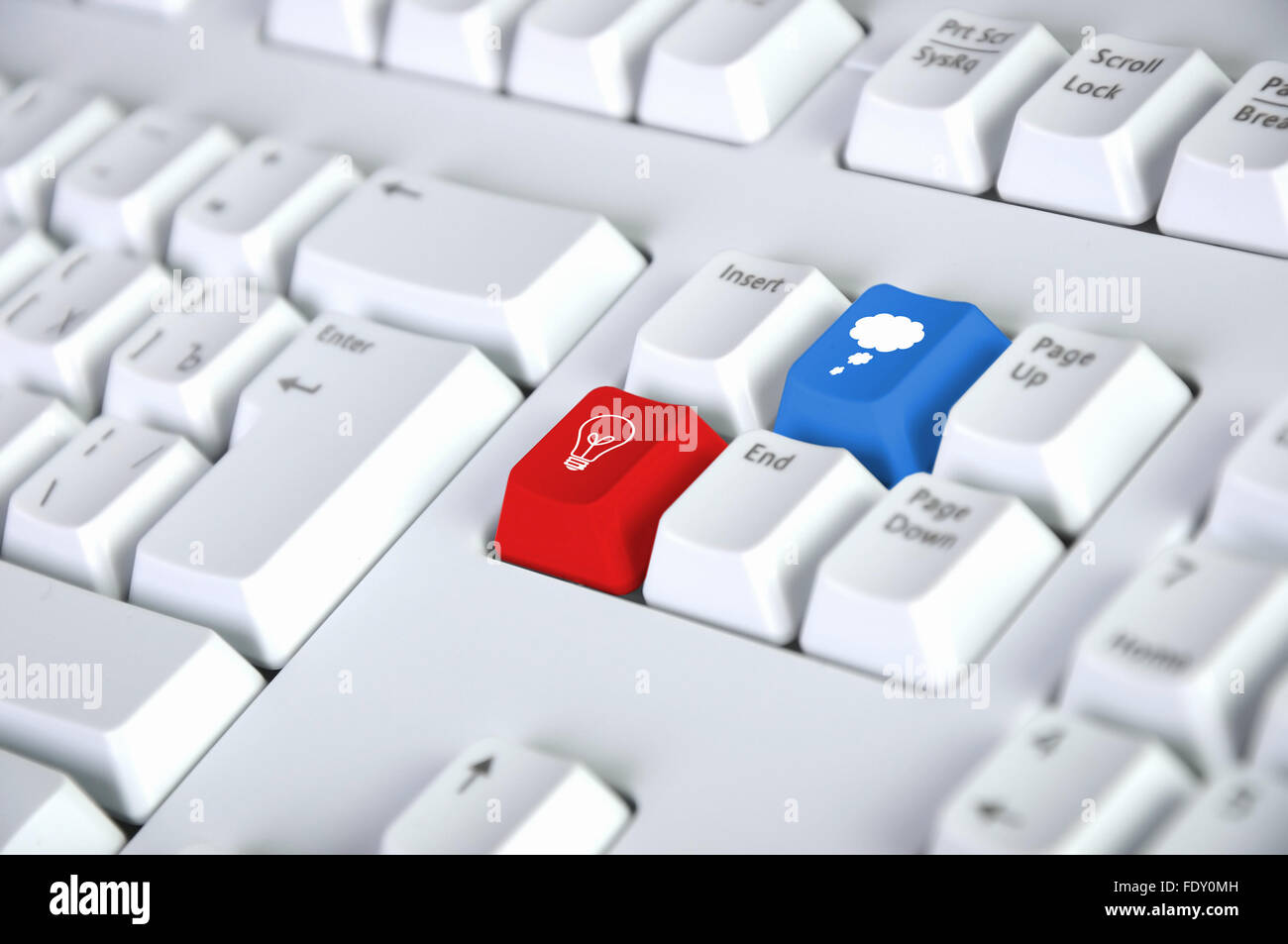 Image of computer keyboard with clous symbol on it stock photo image of computer keyboard with clous symbol on it biocorpaavc
