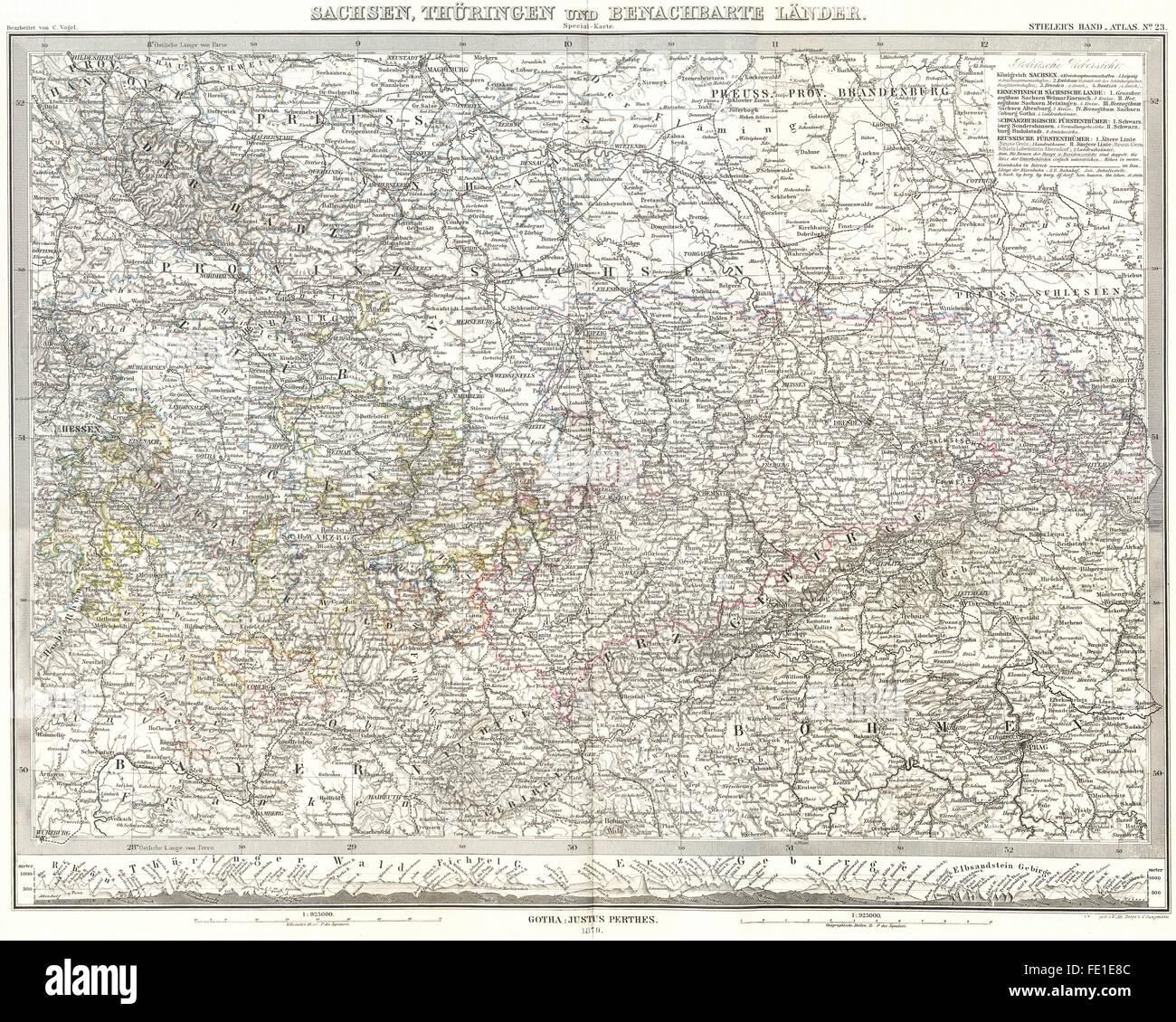 c8alamycompFE1E8Cgermanysachsenthuringen – Map of German Lander