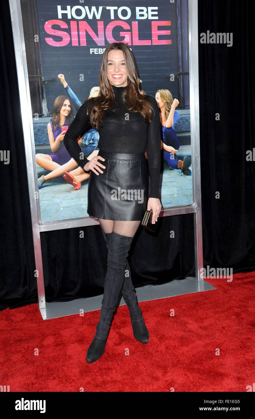 Angela Bellotte At Arrivals For How To Be Single Premiere, Nyu Skirball  Center Of Performing Arts, New York, Ny February 3, 2016