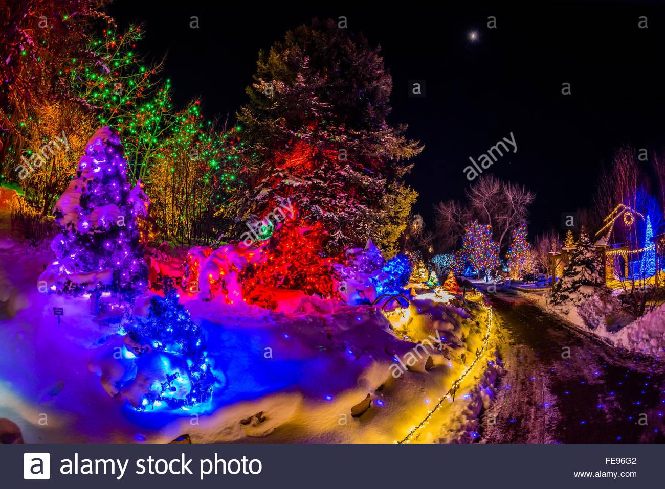 Attractive A Hudson Christmas (holiday Light Show At Hudson Gardens), Littleton,  Colorado USA