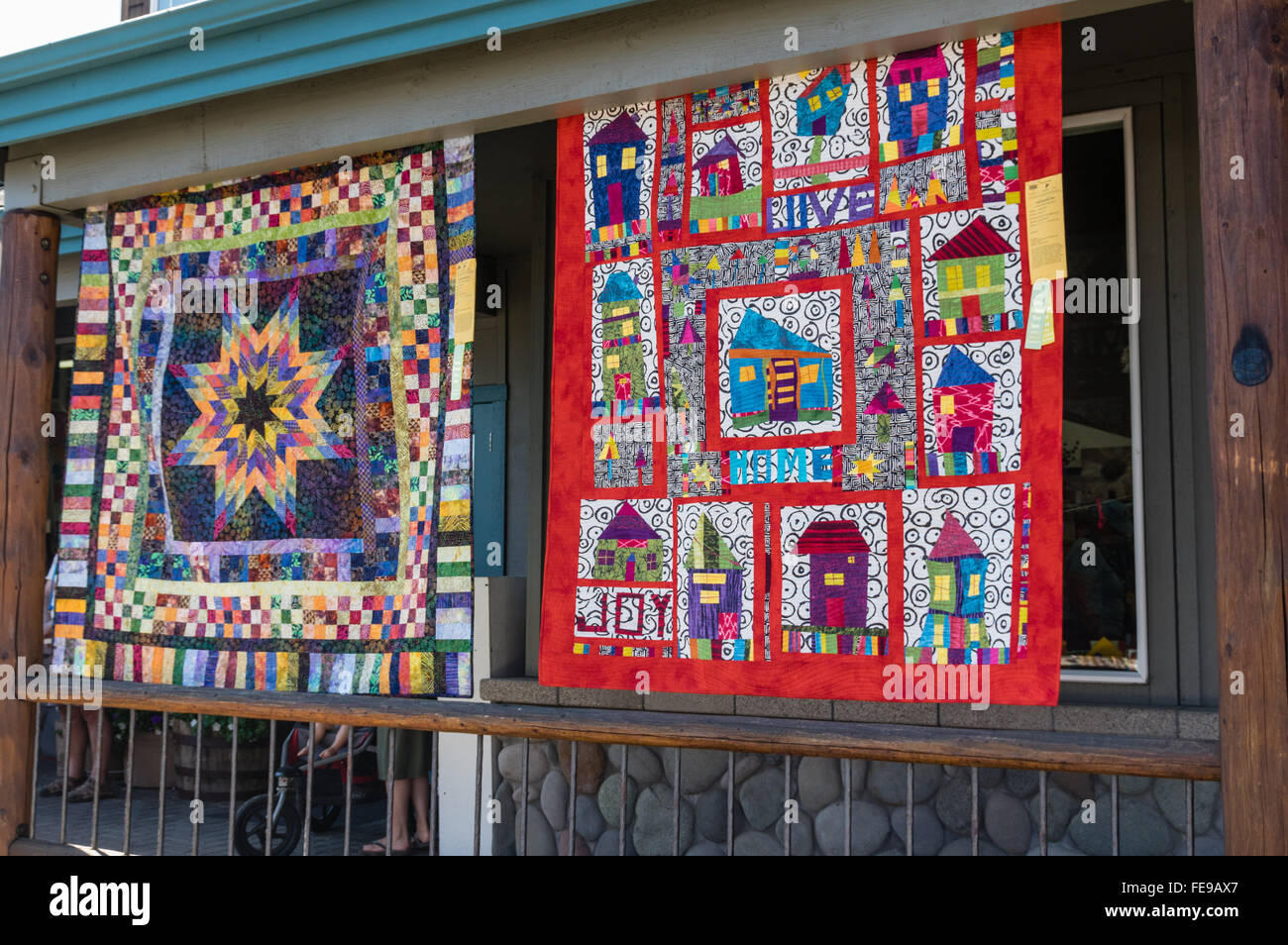QUilts on display at the Sisters Outdoor Quilt Show, SIsters ... : sister quilt show - Adamdwight.com