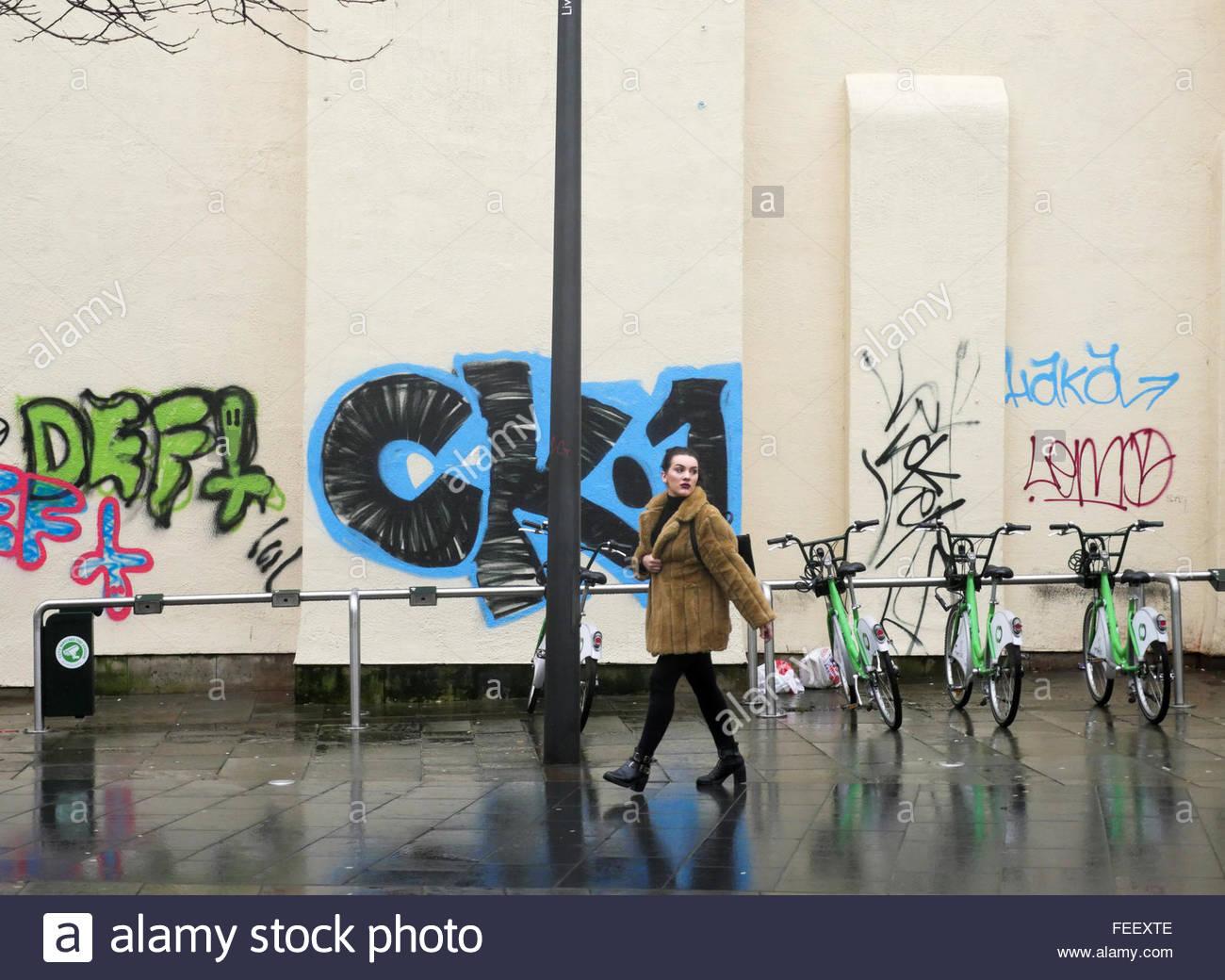 Graffiti wall uk - Bold Street Liverpool Uk Graffiti Wall