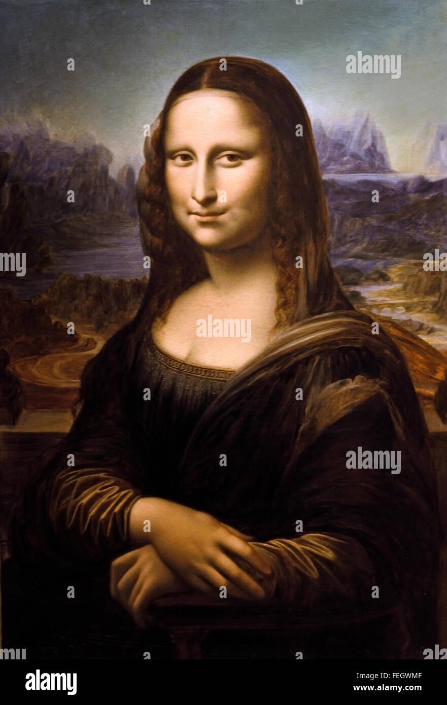 Extrêmement La Joconde vers - Mona Lisa about 1877 Giovanni Rota 1800-1877  AW56