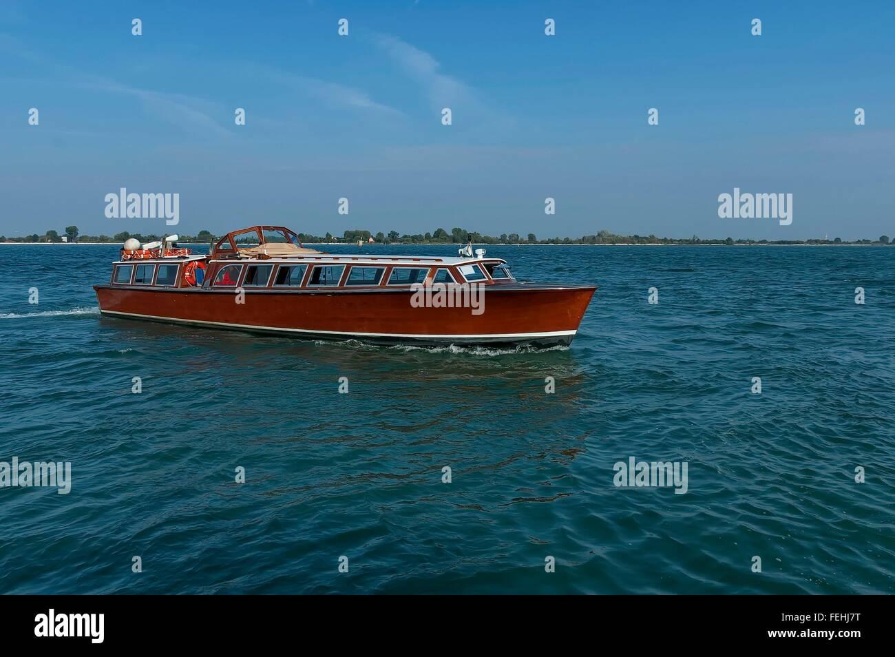 Cruise Ship In The Adriatic Sea Near Venice Italy Europe