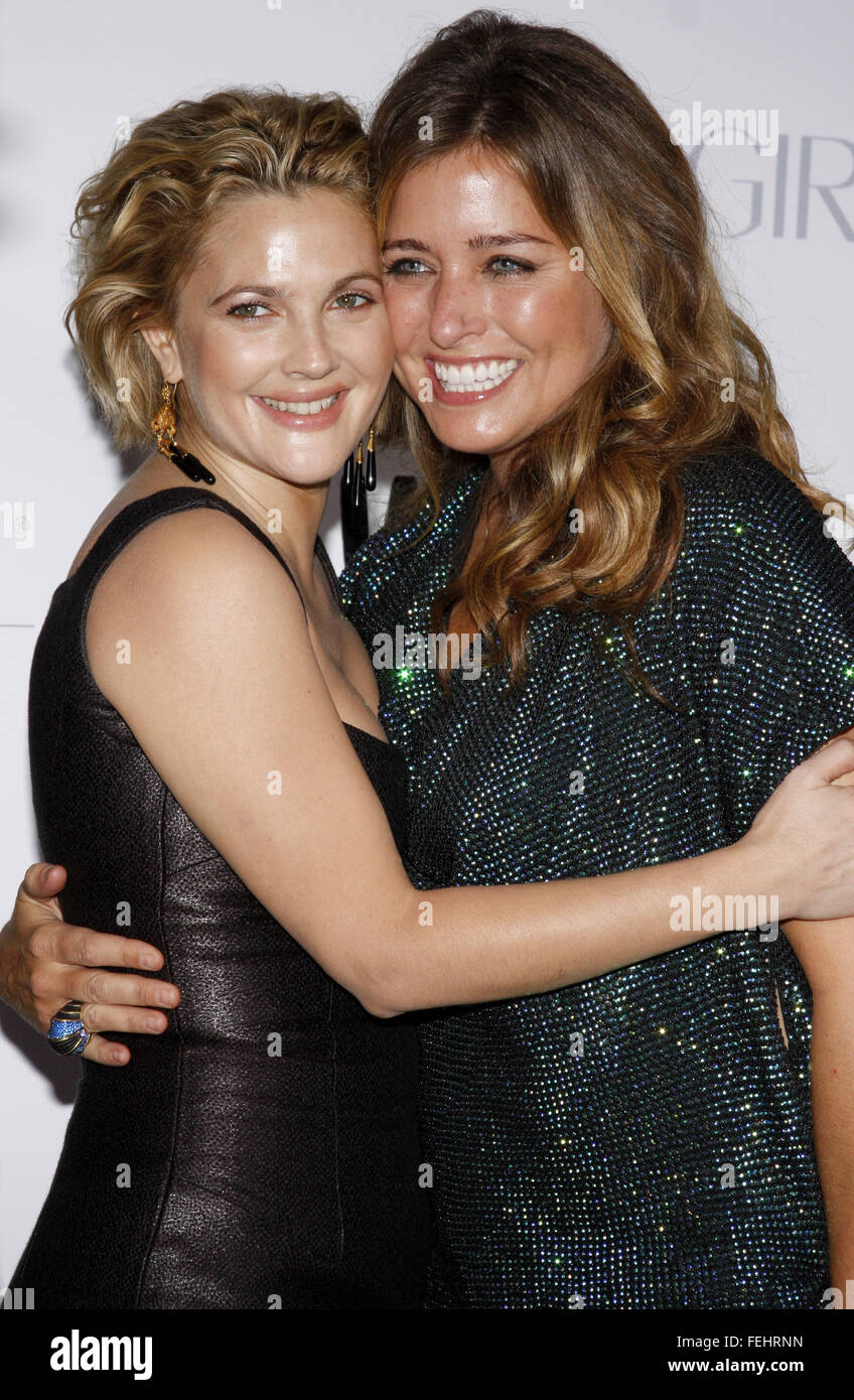 drew barrymore and nancy juvonen at the los angeles premiere of whip stock photo royalty free. Black Bedroom Furniture Sets. Home Design Ideas