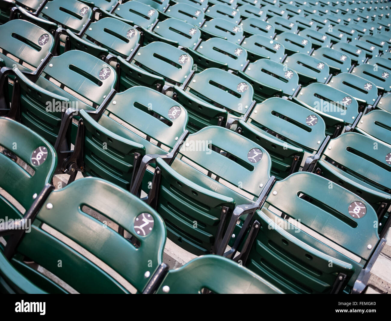 Green Sports Baseball Stadium Seats At US Cellular Field - Cellular field seating