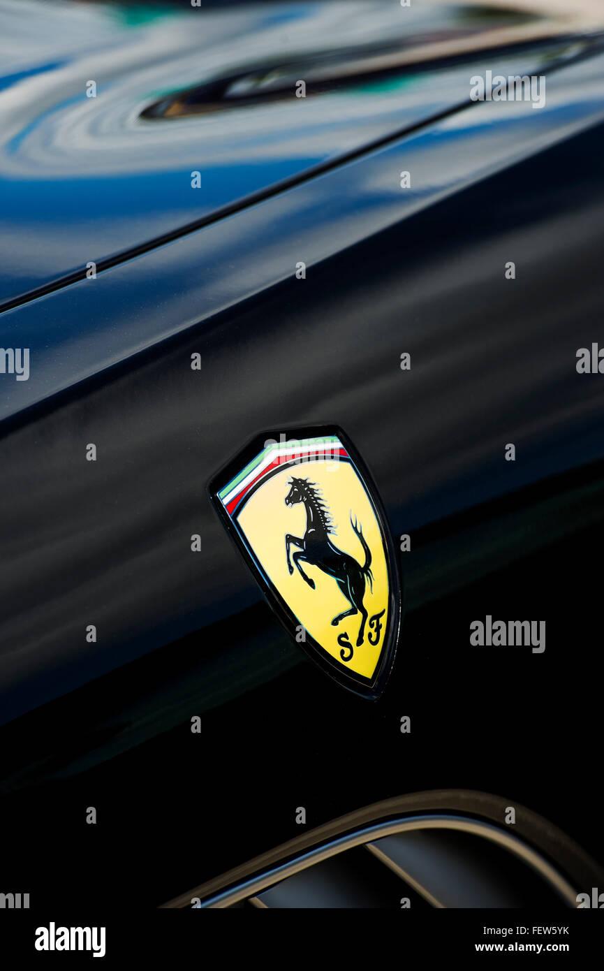 Ferrari badge horse logo on a black ferrari stock photo 95210519 ferrari badge horse logo on a black ferrari biocorpaavc Gallery