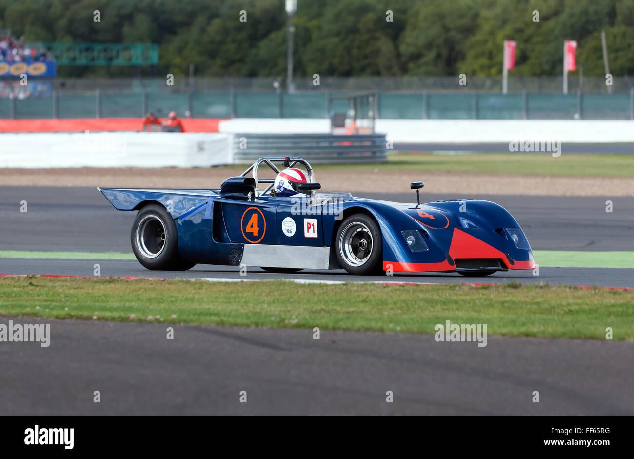 A Chevron B19 competing in the FIA Masters Historic Sports Car ...