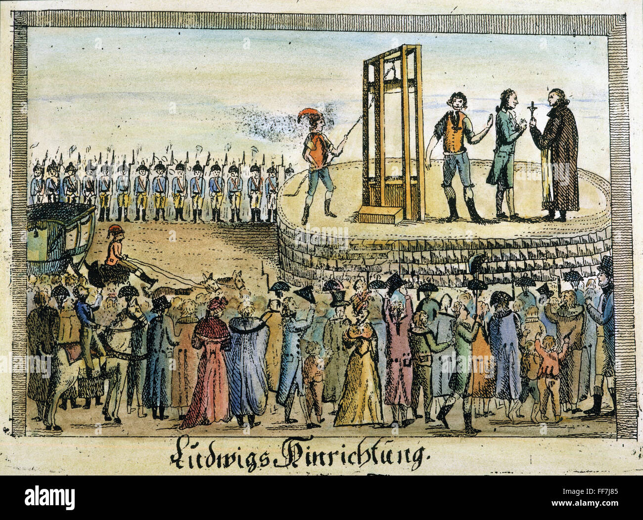 why louis xvi was executed in Louis xvi, and marie antoinette did  there are countless reason why louis xvi should be executed for instance he was an incompetent monarch.
