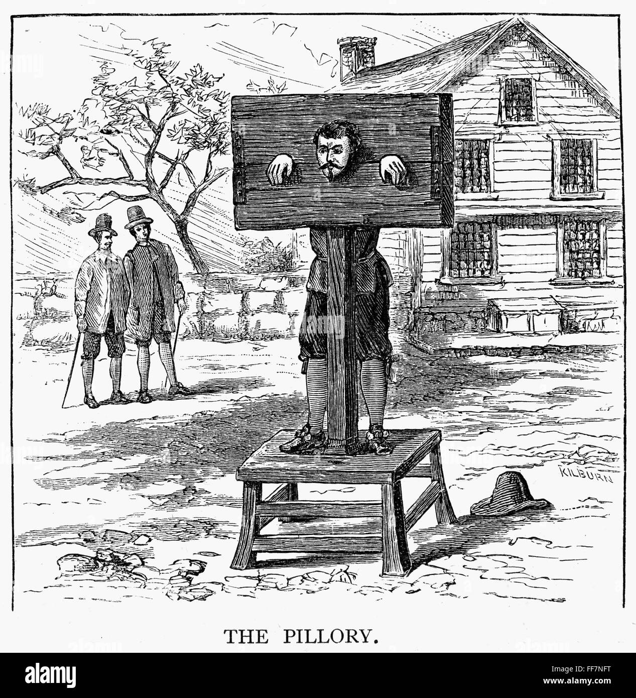 Females in the pillory adult pics