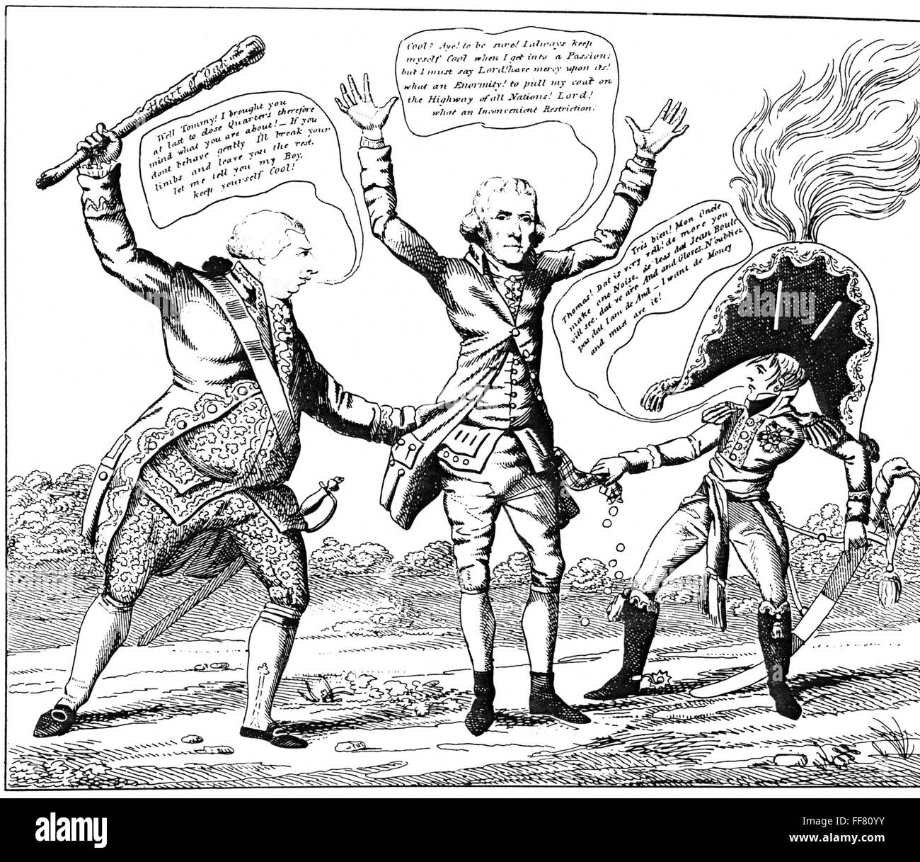 1807 Thomas Jefferson - Embargo Act of 1807   State of the Union ...