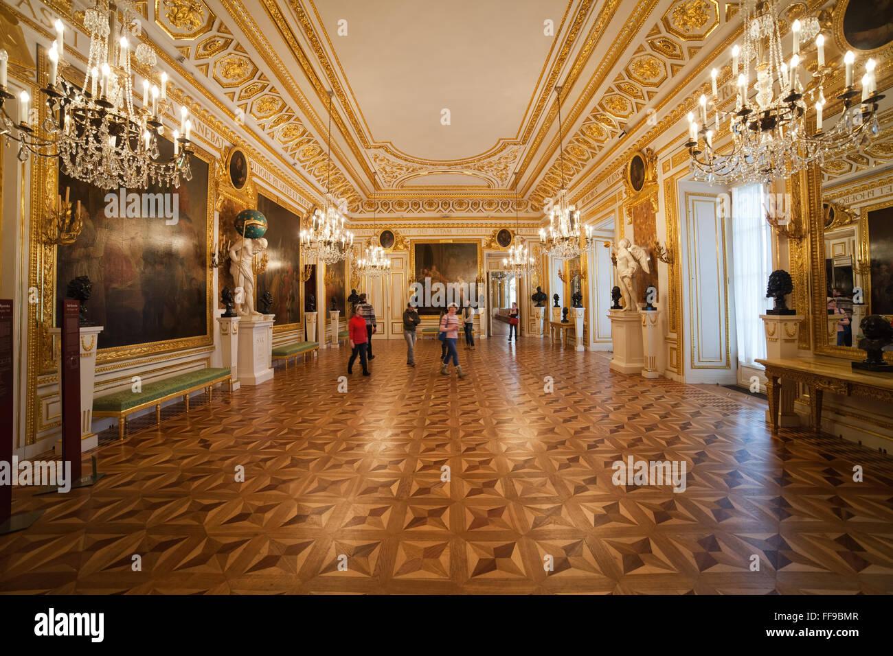 poland royal castle interior stock photos & poland royal castle