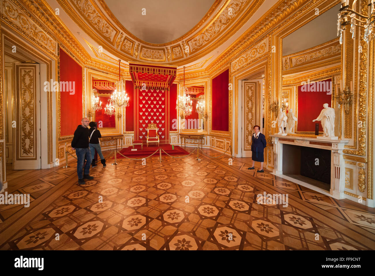 royal castle warsaw interior stock photos & royal castle warsaw