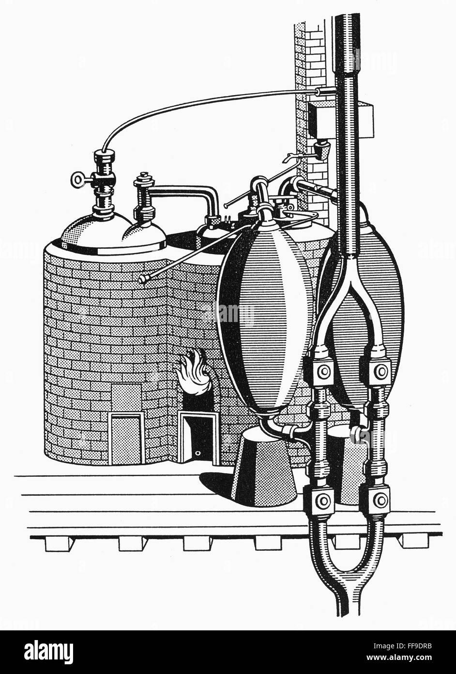 savery s steam engine diagram savery steam engine 1698 nschematic diagram of